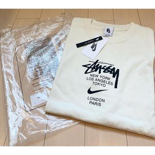 STUSSY - Nike Stussy コラボ 限定 半袖 Tシャツ メンズ ホワイト M 白