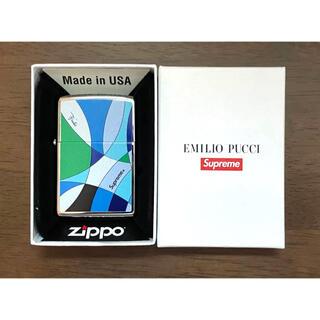Supreme - Supreme®/Emilio Pucci® Zippo® Blue