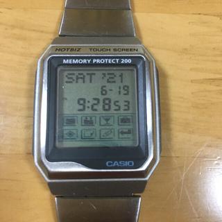 カシオ(CASIO)のカシオ CASIO データバンク タッチスクリーン hotbiz(腕時計(デジタル))