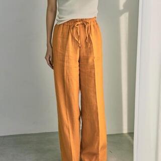 TODAYFUL - トゥデイフル Linen Gather Pants オレンジ 36