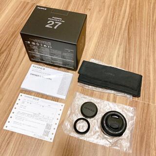 富士フイルム - FUJIFILM XF27mmF2.8 R WR
