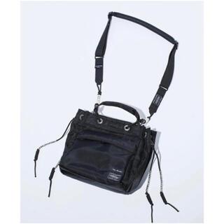 トーガ(TOGA)の新品未使用 21SS TOGA×PORTER String bag  ブラック(ショルダーバッグ)