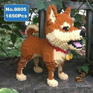 ナノブロック互換 柴犬(積み木/ブロック)