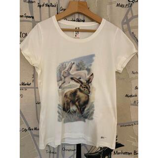 ポールスミス(Paul Smith)のポールスミス うさぎ ラビット アニマル Tシャツ ラメ入り レディース(Tシャツ(半袖/袖なし))