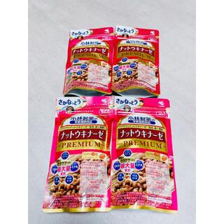 コバヤシセイヤク(小林製薬)のナットウキナーゼ PREMIUM 4袋 120日分(その他)