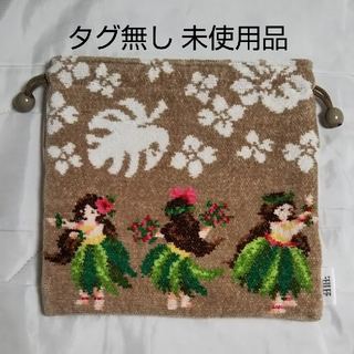 FEILER - 【未使用】フェイラー 巾着 (マナマナ)