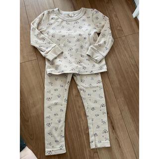 シマムラ(しまむら)のしまむら パジャマ上下セット 美品 100(パジャマ)