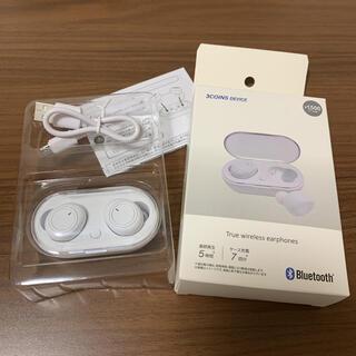 3COINS - スリーコインズ 3COINS ワイヤレスイヤホン Bluetooth 白