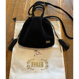 FEILER - ほぼ新品未使用 フェイラー  70th ショルダーバッグ