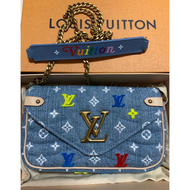 LOUIS VUITTON(ルイヴィトン)のTK様専用 激安 訳あり LOUISVUITTON ニューウェーブ  ショルダー レディースのバッグ(ショルダーバッグ)の商品写真