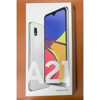 Galaxy - Galaxy A21 ホワイト