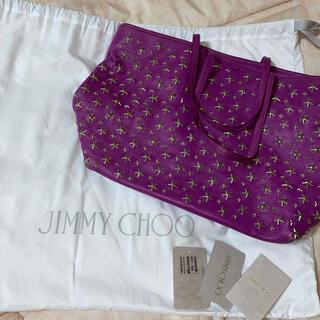 ジミーチュウ(JIMMY CHOO)のJimmy Choo スタースタッズバッグ お値下げ交渉可(トートバッグ)