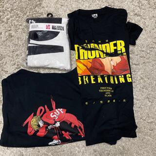ユニクロ(UNIQLO)の鬼滅の刃 ユニク Tシャツ タオル 他セット(Tシャツ/カットソー(半袖/袖なし))