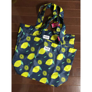 カルディ(KALDI)のKALDI カルディ レモンバッグ エコバッグ 中身なし バッグのみ レモン(エコバッグ)
