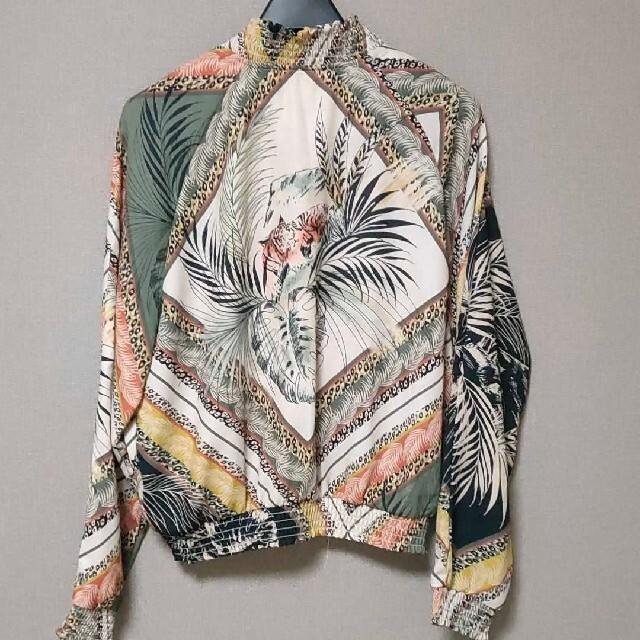 ZARA(ザラ)のストラディバリウス ブルゾン M レディースのジャケット/アウター(ブルゾン)の商品写真