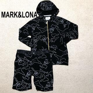 MARK&LONA - MARK&LONA パイル セットアップ L/マーク&ロナ パーカ&パンツ