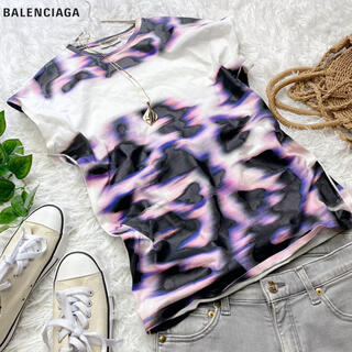 Balenciaga - バレンシアガ  マダラプリントTシャツ 希少 大きめ