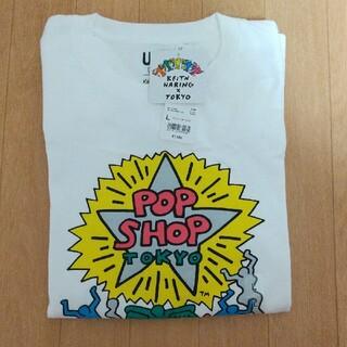 ユニクロ(UNIQLO)の新品タグ付き!ユニクロ×キースヘリング TOKYO Tシャツ L(Tシャツ/カットソー(半袖/袖なし))