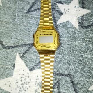 カシオ(CASIO)のCASIO カシオ チプカシ ゴールド ジャンク 時計(腕時計(デジタル))