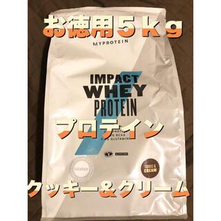 MYPROTEIN - 【送料無料5kg】新品未開封プロテイン クッキー&クリーム味 人気味‼︎マイプロ