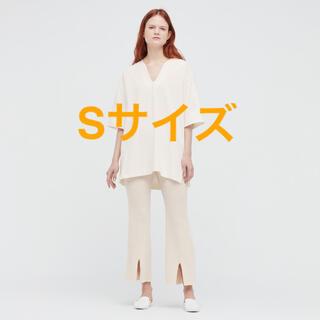 UNIQLO - エアリズムコットンオーバーサイズTシャツ(5分袖)☆mame UNIQLO