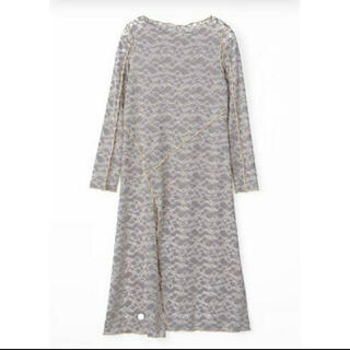 mame - MURRAL ミューラル long stretch lace dress