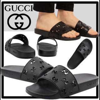Gucci - GUCCI 確実正規品 サンダル ラバーサンダル