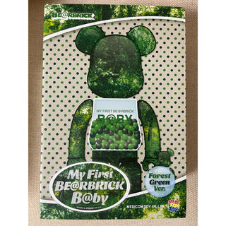 MEDICOM TOY - MY FIRST BE@RBRICK FOREST GREEN 100 400%