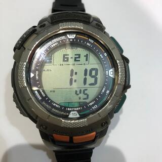 カシオ(CASIO)のカシオ プロトレックPRW-1000J電波ソーラー(腕時計(デジタル))
