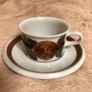 アラビア(ARABIA)のアラビア カップ&ソーサ (食器)