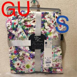 ジーユー(GU)の(新品) GU パジャマ(半袖&ショートパンツ)FYOS size S(パジャマ)
