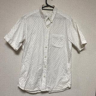 ジーユー(GU)のGU☆メンズ水玉半袖シャツ☆ドット(シャツ)