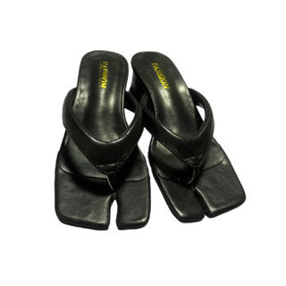 Maison Martin Margiela - 足袋サンダル 36サイズ 黒 マルジェラ TOGA
