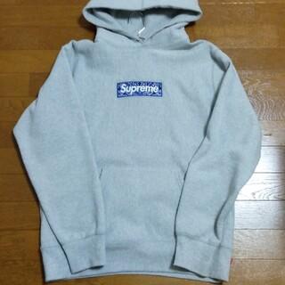 Supreme - Supreme Bandana Box Logo Hooded mサイズ