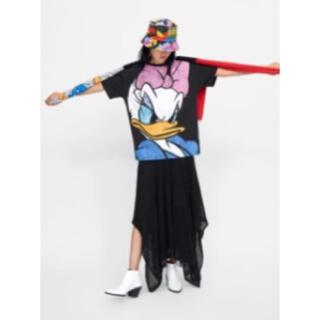 ザラ(ZARA)のザラ デイジーダッグTシャツ(Tシャツ(半袖/袖なし))
