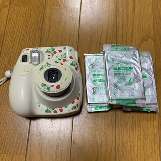 富士フイルム - チェキ instax mini ホワイト フィルム付き