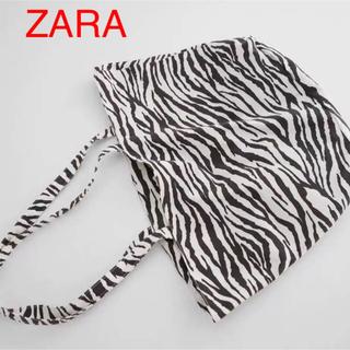 ザラ(ZARA)の(新品) ZARA バッグ ZARAトートバッグ(トートバッグ)