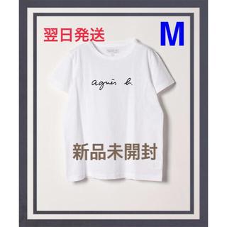 アニエスベー(agnes b.)の【新品タグ付】アニエスベー agnes b ロゴtシャツ 半袖 薄手 レディース(Tシャツ(半袖/袖なし))