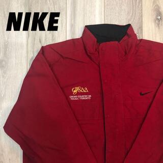 ナイキ(NIKE)の《L》企業ロゴ 大人気商品 NIKE レア品ナイロンジャケット(ナイロンジャケット)