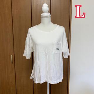 シマムラ(しまむら)のしまむら オーガニックコットン 半袖Tシャツ 大きいサイズ(Tシャツ(半袖/袖なし))