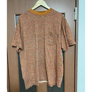 STUSSY - レア!80s 中期タグ old stussy 総柄ポケットTシャツ USA製