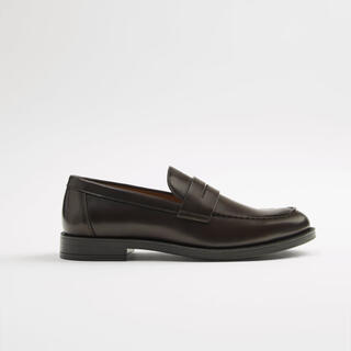 ザラ(ZARA)のZara ペニーモカシン(ローファー/革靴)