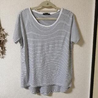 ザラ(ZARA)の値下げ!新品未使用!ZARAボーダーTシャツ(Tシャツ(半袖/袖なし))