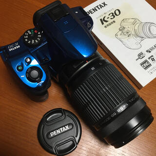 ペンタックス(PENTAX)のペンタックス PENTAX K-30 実用中古 55-300 望遠レンズおまけ(デジタル一眼)