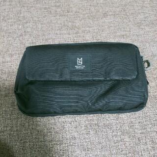 MILESTOミレストトラベルオーガナイザーショルダーバック ブラック(旅行用品)