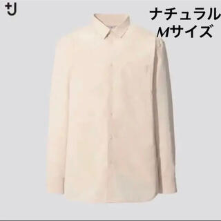 UNIQLO - UNIQLO +J スーピマコットンレギュラーフィットシャツ Mサイズ