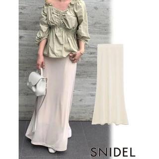 snidel - SNIDEL カットナロースカート