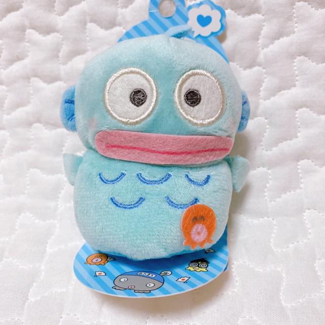 サンリオ(サンリオ)のハンギョドン 指人形 マスコット エンタメ/ホビーのおもちゃ/ぬいぐるみ(キャラクターグッズ)の商品写真