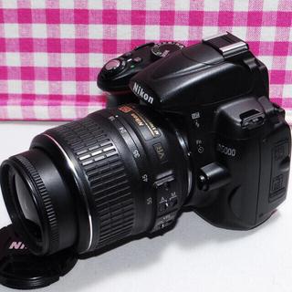 Nikon - Wi-Fi対応☆撮った写真をシェアしよう Nikon D5000 一眼レフカメラ