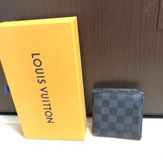 ルイヴィトン(LOUIS VUITTON)のLOUIS VUITTON ルイヴィトン ダミエグラフィット 財布 マルコ 小物(折り財布)